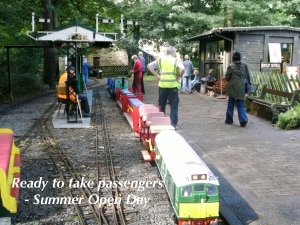 Summer Open day ready to take passengers.