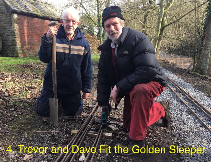 Trevor and Dave fit the Golden Sleeper.