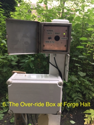 The Override Box at Forge Hill