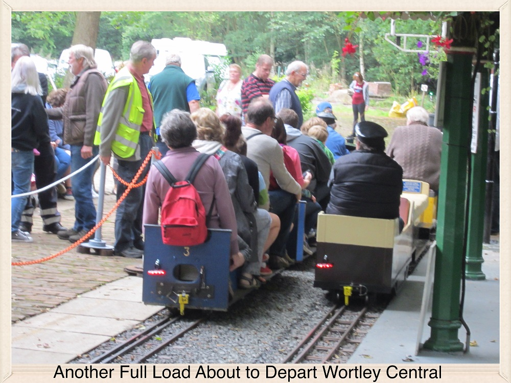 Approaching Wortley Central to Collect the Next Passengers