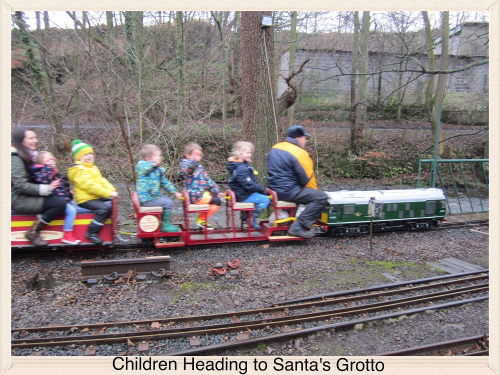 Children Heading to Santas Grotto