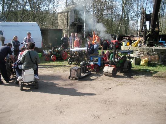 A small selection of our road engines at the Spring gala